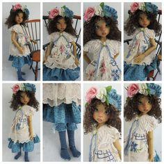 OOAK Handmade Clothing for Kaye Wiggs MSD BJD by Pixxells