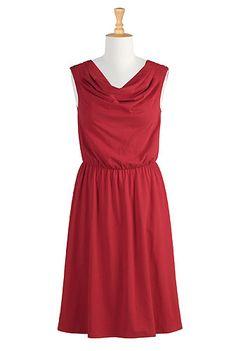 eShakti Something red dress