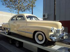 1943 (more likely 1942) Cadillac Coupe