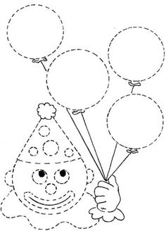 Crafts,Actvities and Worksheets for Preschool,Toddler and Kindergarten.Lots of worksheets and coloring pages. Preschool Worksheets, Kindergarten Activities, Preschool Activities, Printable Worksheets, Interactive Activities, Circus Crafts, Carnival Crafts, Connect The Dots, Pre Writing
