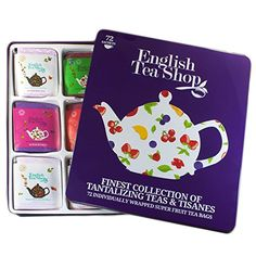 English Tea Shop Super Fruit Gift Tin (72 Sachet Tea Bags)