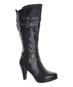 Black Vicky Boot