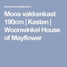 Moos vakkenkast 190cm   Kasten   Woonwinkel House of Mayflower