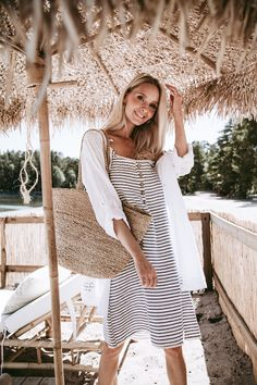 Fashion Brand, Boho Fashion, Style Fashion, Womens Fashion, Summer Ootd Beach, Style Summer, Summer Looks, Beach Dresses, Summer Dresses