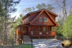 Chris' Smoky Mountain Cabin - Pigeon Forge Cabin Rental - 3 Bedrooms, 3 Baths, Sleeps 8