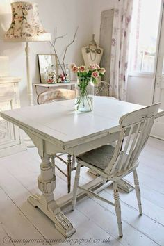 What A Cute Little Table. Shabby Chic ...