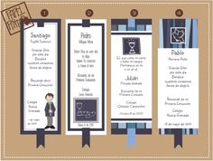 Niños Primera Comunion 1 First Communion Cards, Book Markers, Ideas Para Fiestas, Baby Shower Parties, Event Planning, Cardmaking, Fall Decor, Religion, Invitations