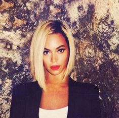 Beyoncé. I say, short over fake extensions any day miss bey.