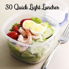 30 Quick and Healthy Light Lunches
