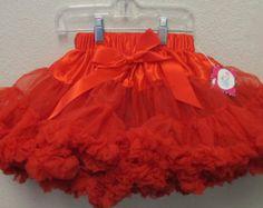 Red Pettiskirt, Red Pettiskirt TUTU, Valentines Day Pettiskirt, Christmas TUTU, Valentines Day Pettiskirt