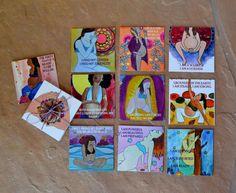 Birth Mantra Meditation Deck/ pregnancy/ by StudioSpiritYSol