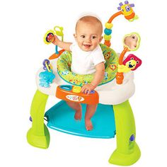 Helps baby with turning head when hearing sounds because of all the different toys around the baby. Age 5 months.