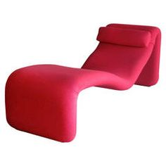 Olivier Mourgue 'Djinn' Chaise Longue Made by Airborne, France circa 1963