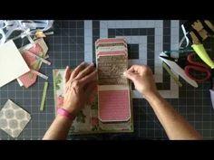 Graphic 45 File Folder Mini Album Tutorial - Part 3 - YouTube