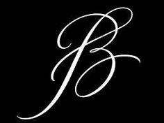 letter b tattoo fonts Cricut Monogram, Monogram Letters, Monogram Design, Tattoo Lettering Fonts, Lettering Design, Typography Fonts, Letter B Tattoo, Initial Tattoos, Monogram Tattoo