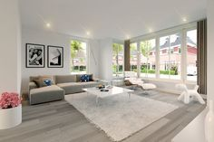 SchippersHof - Living Room Modern, Interior Design Living Room, Living Room Decor, Interiores Design, Decoration, House Design, Home Decor, Images, Future