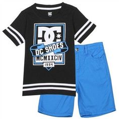 Toddler Boy's DC Shoes Shorts Set#1lt2f #1lt2fskateshop #fashion #skateboarding #skateboard #longboarding #mensfashion #womensfashion #fashion #apparel #skatedecks #toys #games #dccomics #marvel #music