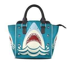 ceece41787 Women Large Tote PU Leather Shoulder Bags William Morris Prints Ladies  Handbag - Shoulder bags ( Amazon Partner-Link)