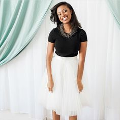Space 46 Boutique is an online women's boutique featuring a collection of fun and feminine tulle and lace skirts, perfect for casual, bridal and formal wear. Bridal And Formal, Formal Wear, Lace Skirt, Tulle, Short Sleeve Dresses, Girly, Feminine, Boutique, Pretty