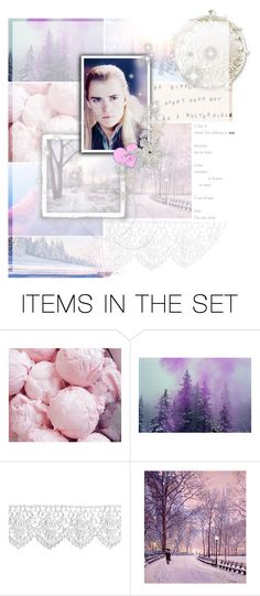 """""""Snow falling silently in the middle of the night /// Yule /// Legolas Greenleaf /// Bonus Round"""" by fangirl-forever-1 ❤ liked on Polyvore featuring art, Winter, Pink, purple, yule and legolas"""