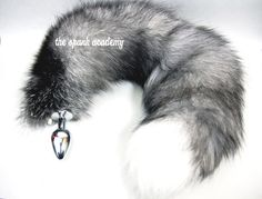 """Tail Butt Plug, 26""""-28"""" REAL INDIGO Fox Tail Plug, with/without detachable/non-detachable stainless steel/silicone Butt Plug Tail, in 3 sizes Inumimi Cosplay Furry Goth Fantasy Fashion Wear $99.99 USD https://www.etsy.com/listing/216145182/tail-butt-plug-26-28-real-indigo-fox?ref=shop_home_active_4&ga_search_query=indigo"""