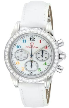 Omega Deville Specialties Olympic Collection Diamond Ladies Watch#The set includes: body, box, manual, warranty card bundled 100M waterproof Country of origin: Switzerland✿❤Thank❤You✿I❤❤❤You❤✿