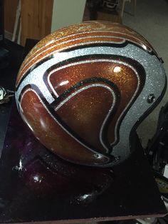 Working on another helmet.