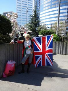 Pirate England cosplay- THIS IS AWESOME!