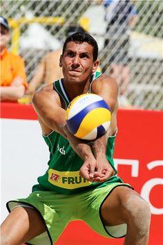 Valerio Del Carpio of Italy receives a ball