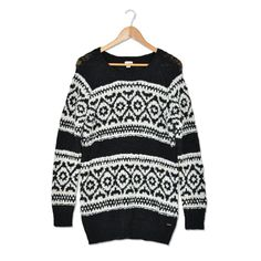 This Fair Isle Sweater would keep me Garage Clothing, Women's Clothing, Beautiful Outfits, Cute Outfits, High Fashion, Winter Fashion, Sweater Weather, Comfy Sweater, Holiday Wishes