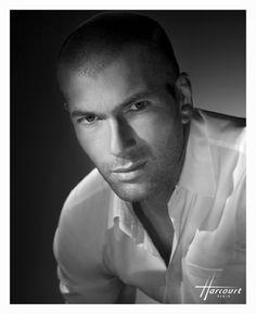 Zinedine Zidane by Studio Harcourt Paris
