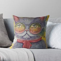 Coffee Shops, Cat Lovers, Pillow Covers, Your Style, Throw Pillows, Stylish, Cats, Shopping, Beautiful