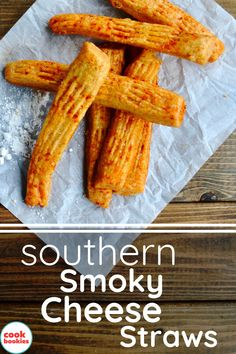 These cheesy and smoky white cheddar cheese straws are great for any holiday get together!  #cheesestraws #southernfood #partyfood #sidedishes #holidayfood #cheese #appetizers #easyrecipes