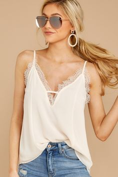 e77844a9ec 17 Best Lace tank images in 2019 | Buckle outfits, Lace peplum, Lace ...