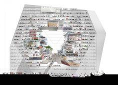 BIG, OMA e Büro-OS competem para construir novo Media Campus em Berlim