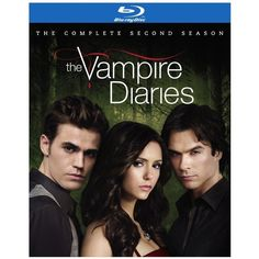 The Vampire Diaries Season 2 [Blu-ray] ($17) ❤ liked on Polyvore featuring movies