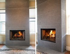 Fireplace Mantels and Surrounds - modern - fireplaces - other metro - by Dekko Concrete Decor