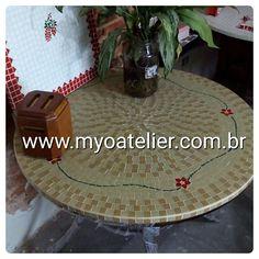 Tampo mesa mosaico