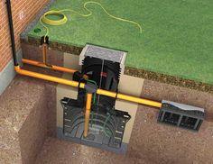 Cisterna de agua de lluvia