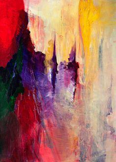 "Nora Jane WN05 Acrylic on canvas 19.6""x 27.5"" Акрил на холсте 50х70см. 2015"