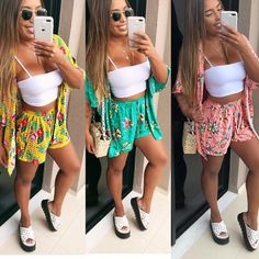 Plus Size Women S Beach Dresses Refferal: 2808756423 Moda Instagram, Summer Outfits, Girl Outfits, Fashion Outfits, Beach Dresses, Summer Dresses, African Wear Dresses, Modelos Fashion, Summer Kimono