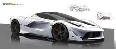 総合最高出力1050CV、総合最大トルク900Nmを誇る「FXX K」