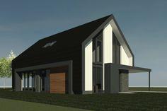Nieuwbouw van een moderne schuurwoning in Almelo