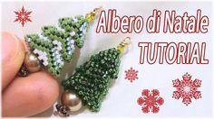Tutorial Albero di Natale con perline - Fai da te con perline - Albero n...