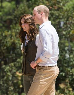 Pin for Later: The Duke and Duchess of Cambridge Look Picture-Perfect During Their Hike in Bhutan