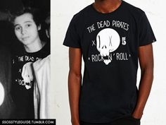 Luke Hemmings: The Dead Pirates Tee (The Dudes) Exact(Sold Out) / Exact(Sold Out) / Similar