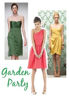 What to wear to a garden wedding!