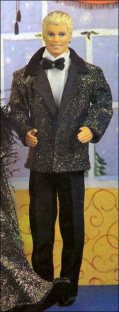 """Tuxedo for Ken, free sewing pattern    """"To [skachat]""""  press for link to the pattern in a zip file"""