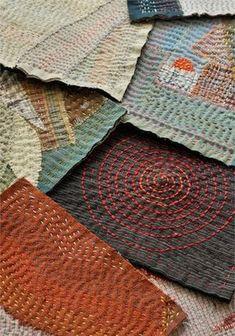 Patience embroidery .: Sashiko origin, technique, patterns.