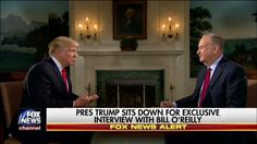 Prior to the kickoff of Super Bowl LI, in a wide-ranging interview, Bill O'Reilly asked President Trump about the rollout of the travel ban stipulated in his executive order.